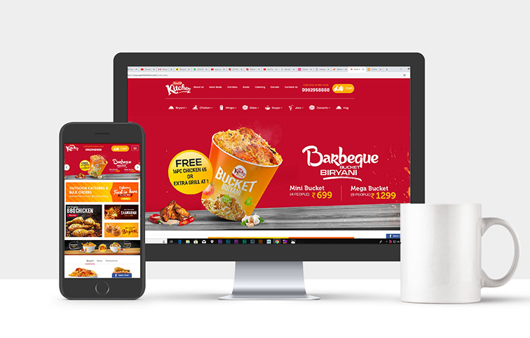 Top Restaurant website Designing
